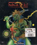 Ninja Spirit Commodore 64 Front Cover