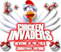 Chicken Invaders: Revenge of the Yolk - Christmas Edition Windows Front Cover
