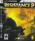 Resistance 2 PlayStation 3 Front Cover