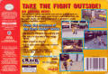 Fighting Force Nintendo 64 Back Cover
