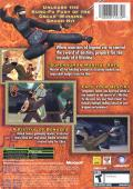 Crouching Tiger Hidden Dragon Xbox Back Cover
