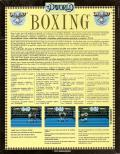 3D World Boxing  DOS Back Cover