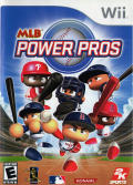 MLB Power Pros 2008 Wii Front Cover