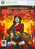 Command & Conquer: Red Alert 3 Xbox 360 Front Cover