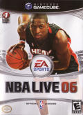 NBA Live 06 GameCube Front Cover