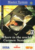 Where in the World is Carmen Sandiego? SEGA Master System Front Cover