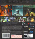 The Elder Scrolls IV: Oblivion - Game of the Year Edition PlayStation 3 Back Cover