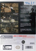 Medal of Honor: Heroes 2 Wii Back Cover