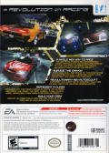 Need for Speed: Carbon Wii Back Cover