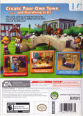 MySims Wii Back Cover