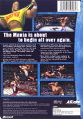 Legends of Wrestling Xbox Back Cover