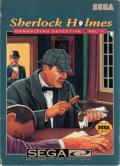 Sherlock Holmes Consulting Detective: Volume II SEGA CD Front Cover