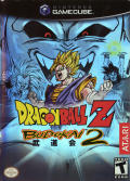 Dragon Ball Z: Budokai 2 GameCube Front Cover