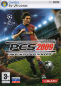PES 2009: Pro Evolution Soccer Windows Front Cover