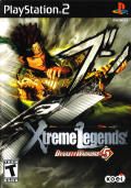 Dynasty Warriors 5: Xtreme Legends PlayStation 2 Front Cover