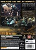 Dead Space Xbox 360 Back Cover