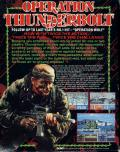 Operation Thunderbolt ZX Spectrum Back Cover