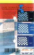 Colossus Chess 4 ZX Spectrum Back Cover
