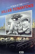 Attack of the Killer Tomatoes MSX Front Cover