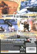 Battlefield 2: Modern Combat Xbox 360 Back Cover