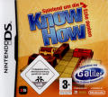 Know How: Think and play outside the box! Nintendo DS Front Cover