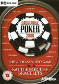 World Series of Poker 2008: Battle for the Bracelets Windows Front Cover