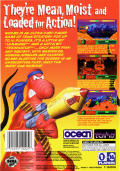 Worms SEGA Saturn Back Cover