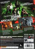 Left 4 Dead Xbox 360 Back Cover