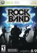 Rock Band Xbox 360 Front Cover