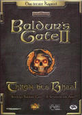 Baldur's Gate II: Throne of Bhaal Windows Front Cover