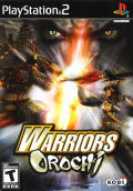 Warriors Orochi PlayStation 2 Front Cover