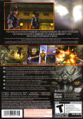 Warriors Orochi PlayStation 2 Back Cover