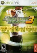 Smash Court Tennis 3 Xbox 360 Front Cover