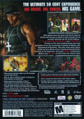 50 Cent: Bulletproof PlayStation 2 Back Cover