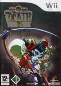 Death Jr. II: Root of Evil Wii Front Cover