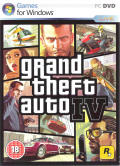 Grand Theft Auto IV Windows Front Cover
