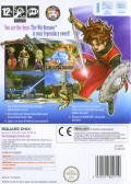 Dragon Quest Swords: The Masked Queen and the Tower of Mirrors Wii Back Cover