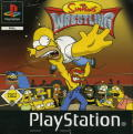 The Simpsons Wrestling PlayStation Front Cover