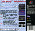 You Don't Know Jack PlayStation Back Cover