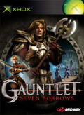 Gauntlet: Seven Sorrows Xbox 360 Front Cover