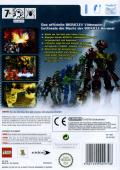 Bionicle Heroes Wii Back Cover