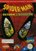 Spider-Man: Return of the Sinister Six NES Front Cover
