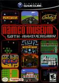 Namco Museum 50th Anniversary GameCube Front Cover
