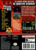 Namco Museum 50th Anniversary GameCube Back Cover