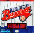 Virtual League Baseball Virtual Boy Front Cover
