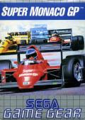Super Monaco GP Game Gear Front Cover