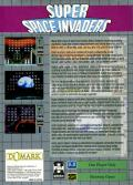 Taito's Super Space Invaders Game Gear Back Cover