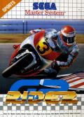 GP Rider SEGA Master System Front Cover