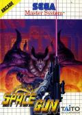 Space Gun SEGA Master System Front Cover