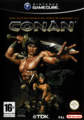 Conan GameCube Front Cover